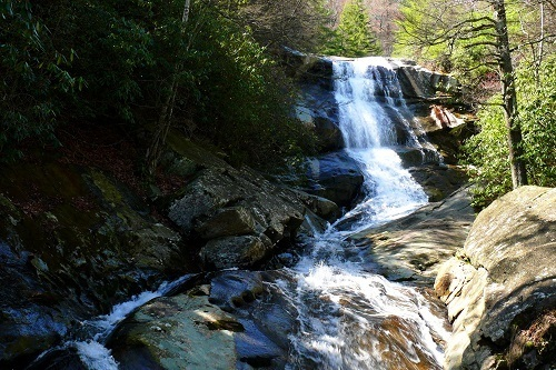Upper Creek in Pisgah National Forest, North Carolina