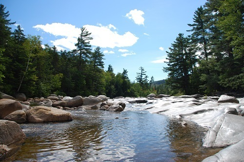 River by the White Mountain National Forest, New Hampshire
