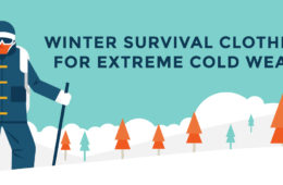 Winter survival clothing - what to wear