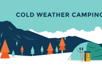 Tips for surviving winter camping