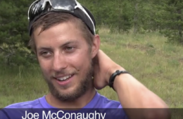 Joe McConaughy Appalachian Trail record breaker